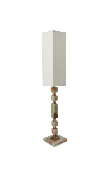 Green Onyx Table Lamps